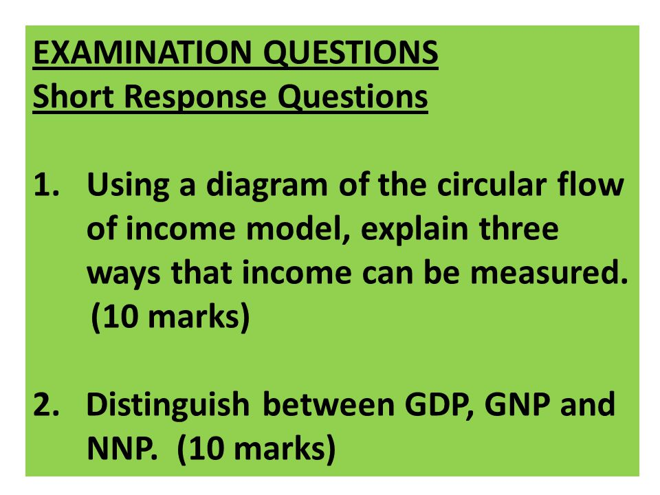 explain three uses of national income The three sides of gdp interact to determine  alternative progress indicators to gross domestic product (gdp)  national income and gross national.