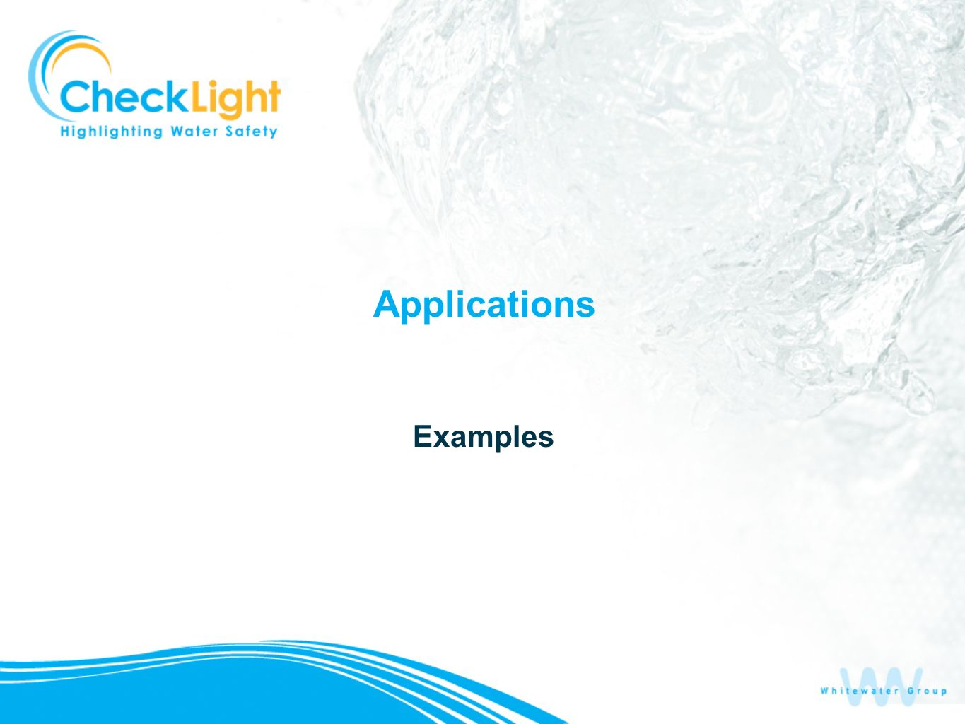 Applications Examples