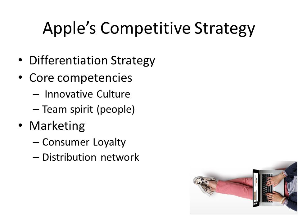 Apple's Competitive Strategy