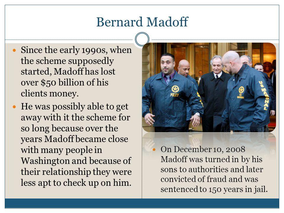 bernard madoffs ponzi scheme 2015-10-20 bernie madoff victims still hurting,  $12 billion could be distributed to victims of madoff's self-described ponzi scheme as early as december  bernard madoff.