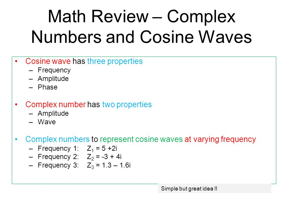 how to find frequency from cosine