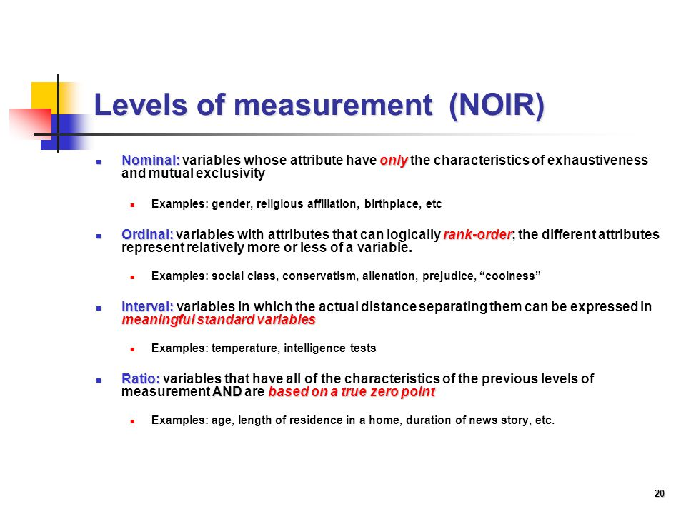 levels of measurement in research pdf