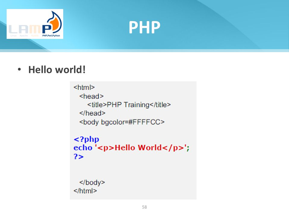What is PHP? Write your first PHP Program