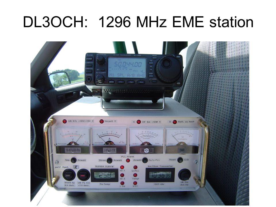 DL3OCH: 1296 MHz EME station