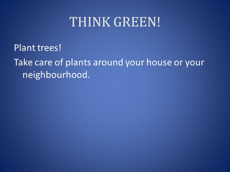how to take care of plants and trees