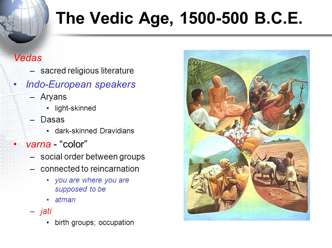 the vedic age During the vedic age, more than 3,000 years ago, women were assigned a high place in society they shared an equal standing with their men folk and enjoyed a kind of liberty that actually.