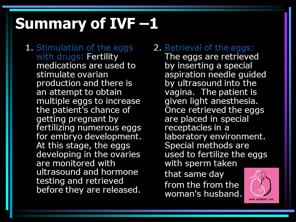 Summary of IVF –1