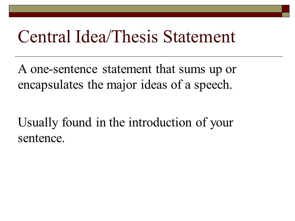 How do you write a thesis statement with an introduction?