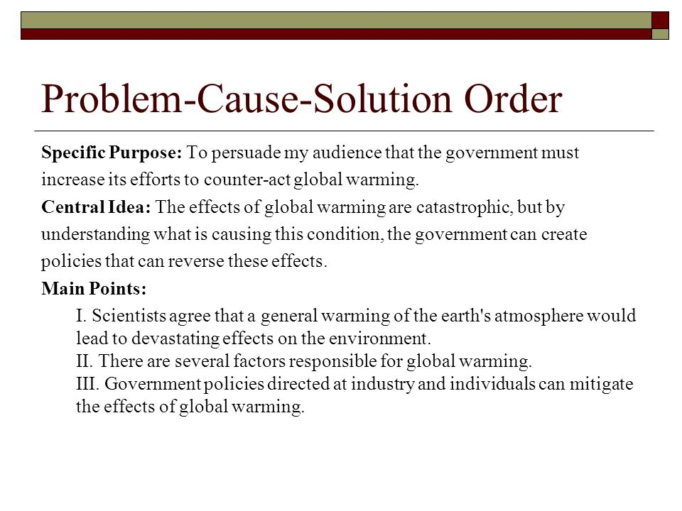 Argumentative Essay Global Warming