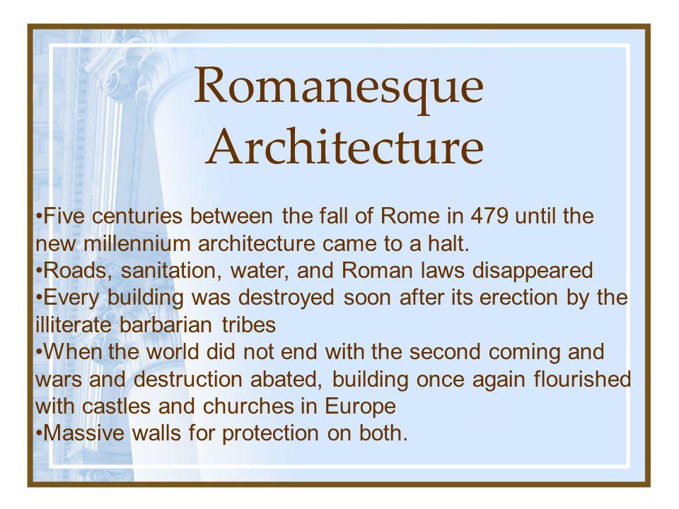 romanesque and gothic architecture essay Builders and masters in the age of romanesque and gothic  panofsky's classic  essay gothic architecture and scholasticism, radding and clark's book not.