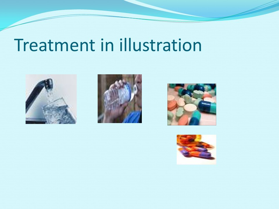 Treatment in illustration