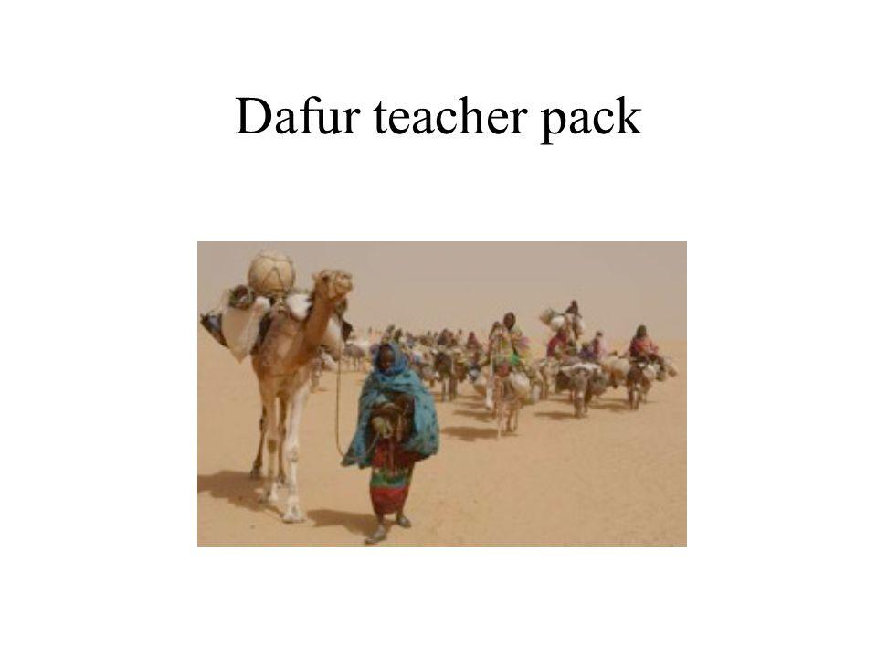 Dafur teacher pack
