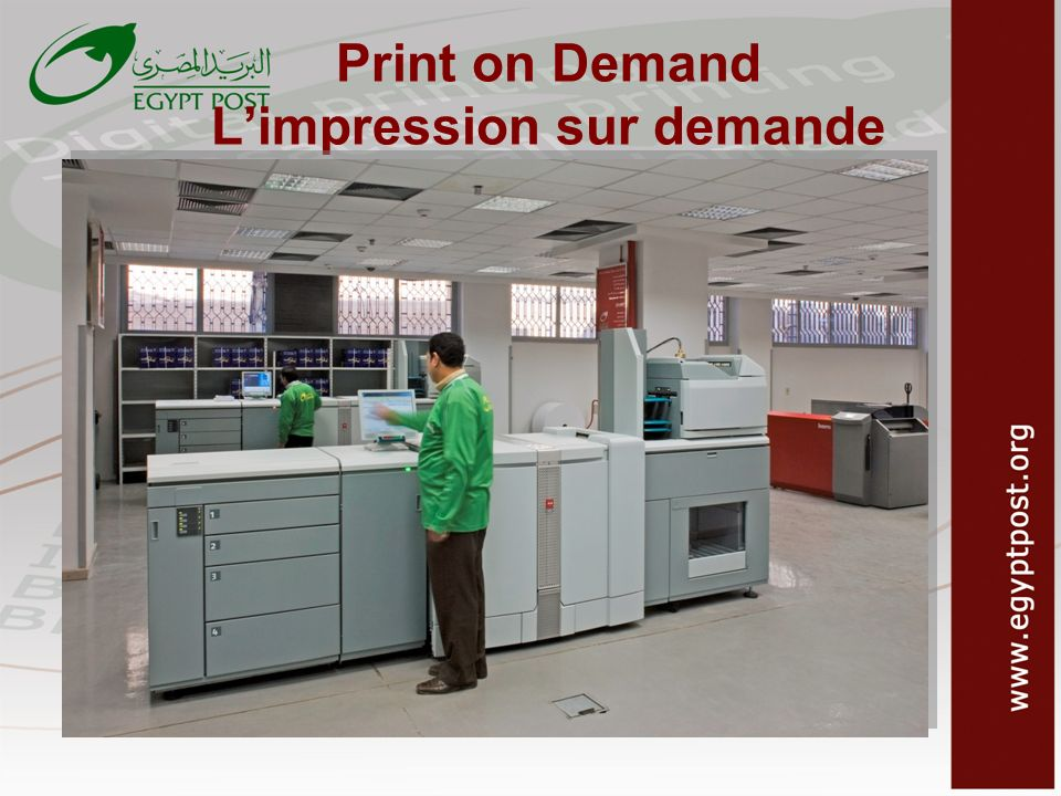 Print on Demand L'impression sur demande