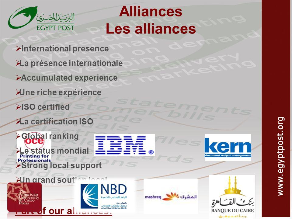 Alliances Les alliances