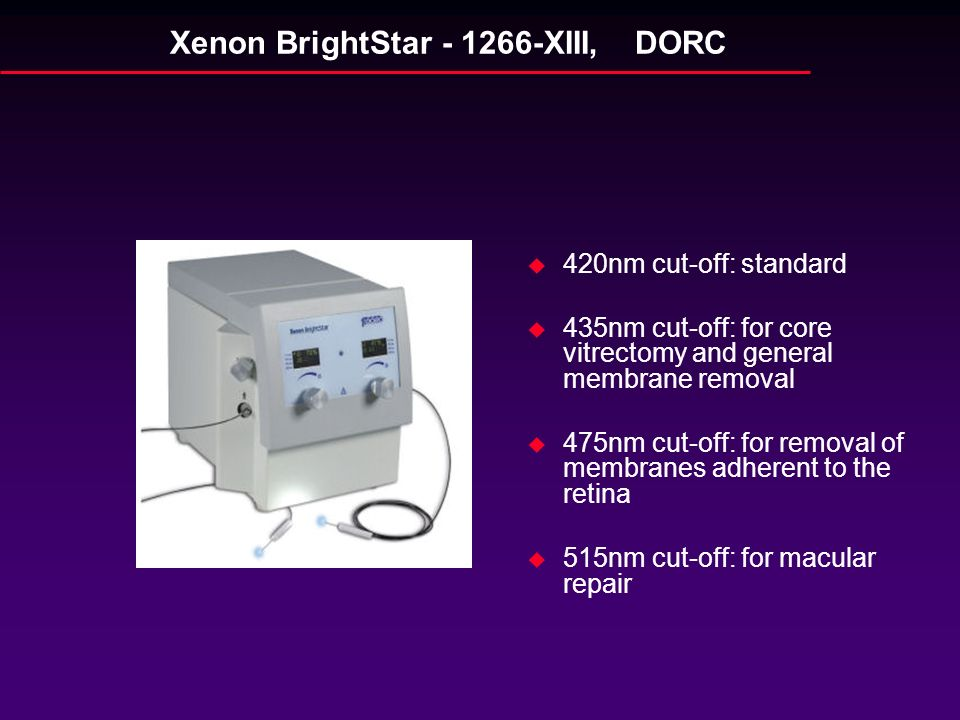 Xenon BrightStar - 1266-XIII, DORC
