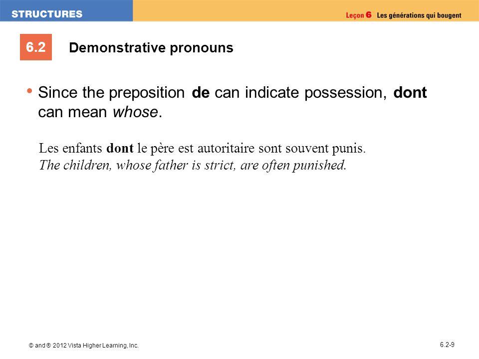 Demonstrative pronouns