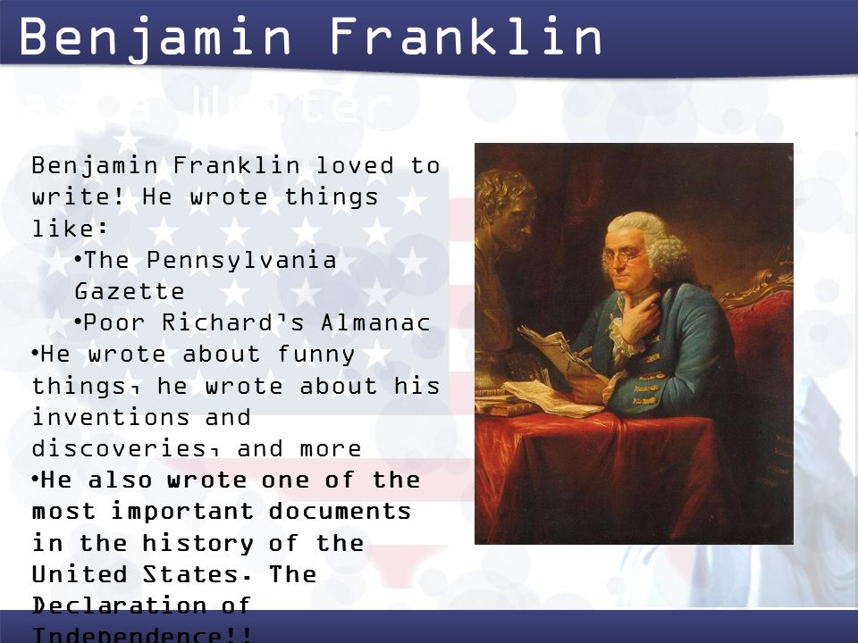 the early life and education of benjamin franklin In fact, autobiography is by far the best source for information on franklin's early life part 1 ends with franklin's marriage to deborah and the beginning of his subscription library in late.