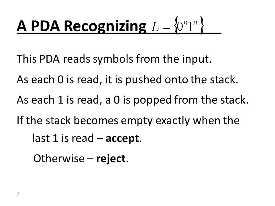 A PDA Recognizing_________