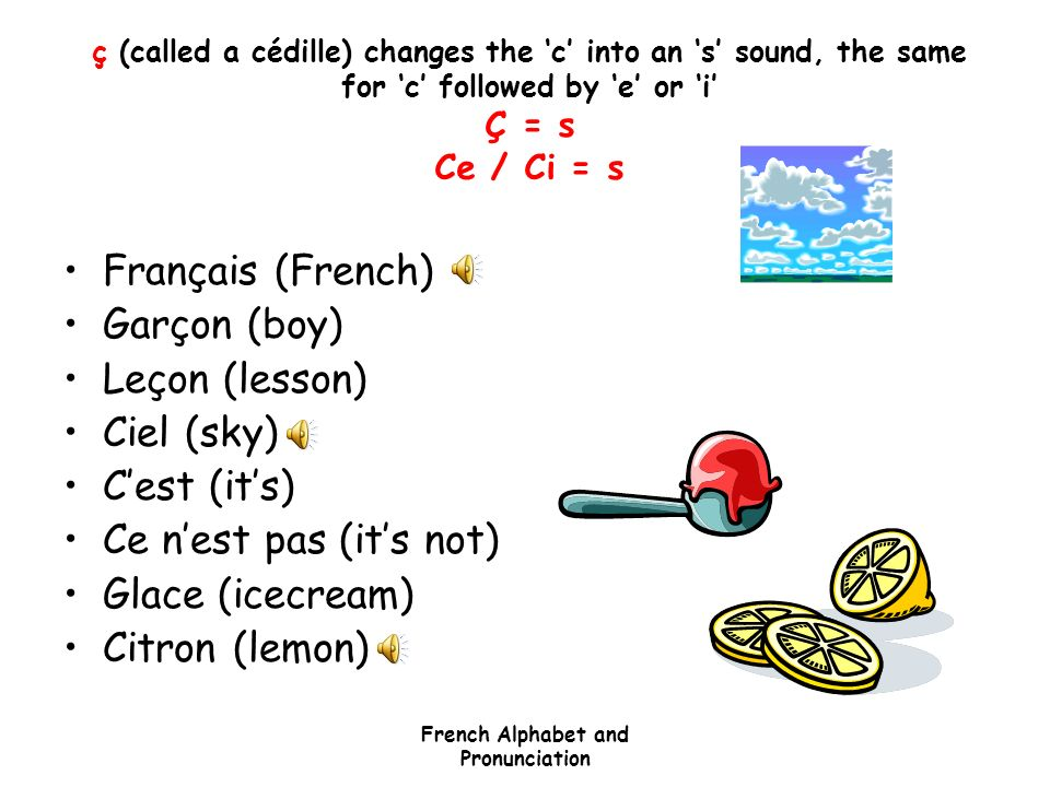 French Alphabet & Pronunciation - ppt video online download