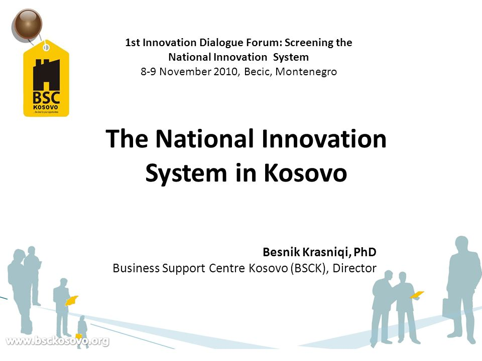 The National Innovation System in Kosovo