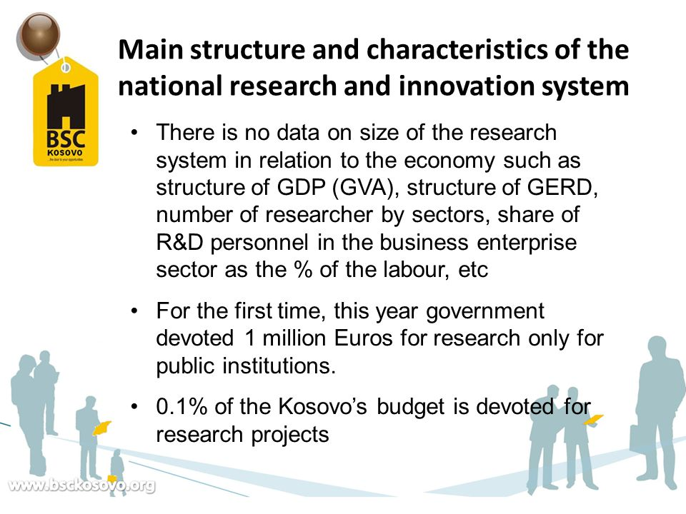 Main structure and characteristics of the national research and innovation system