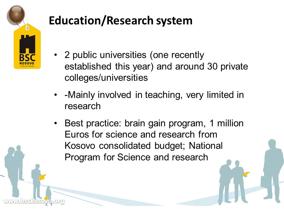 Education/Research system