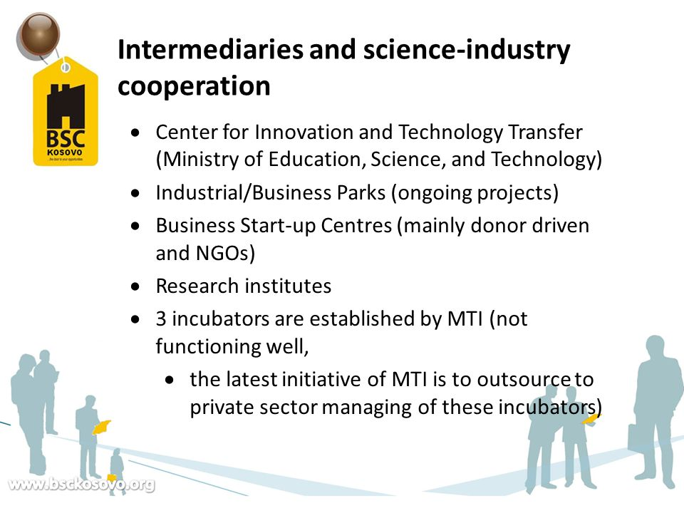 Intermediaries and science-industry cooperation