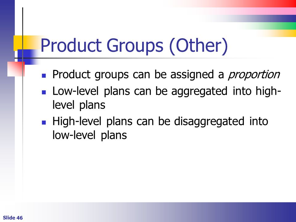 Product Groups (Other)