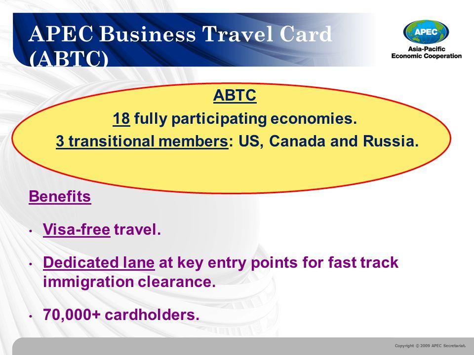 Apec Travel Card Canada