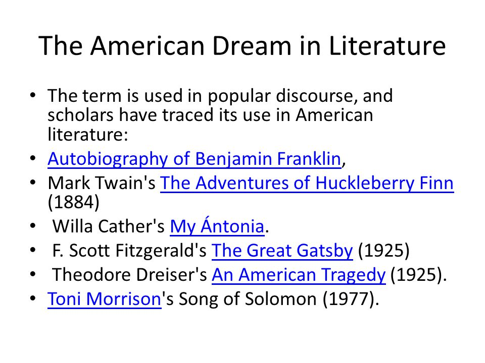 Pursuing the american dream in willa cathers novel my antonia