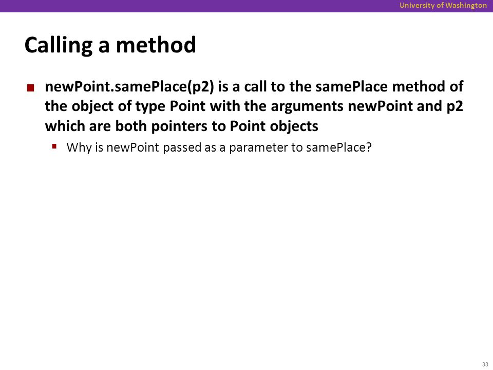 how to call methods on objects