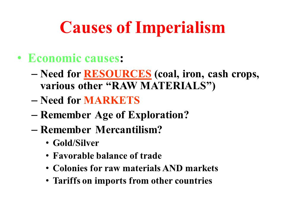 imperialism justified Justifying the role of imperialism in way that 19th century colonialists justified carving up an entire continent the world socialist web site from.