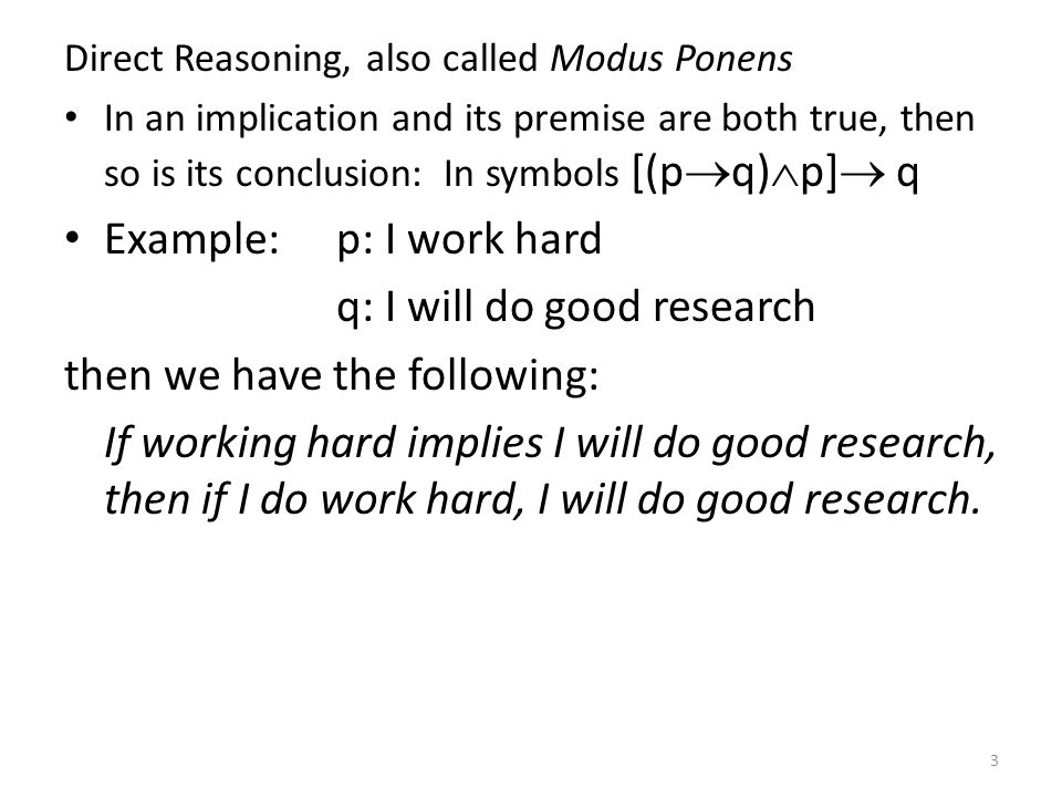 q: I will do good research then we have the following: