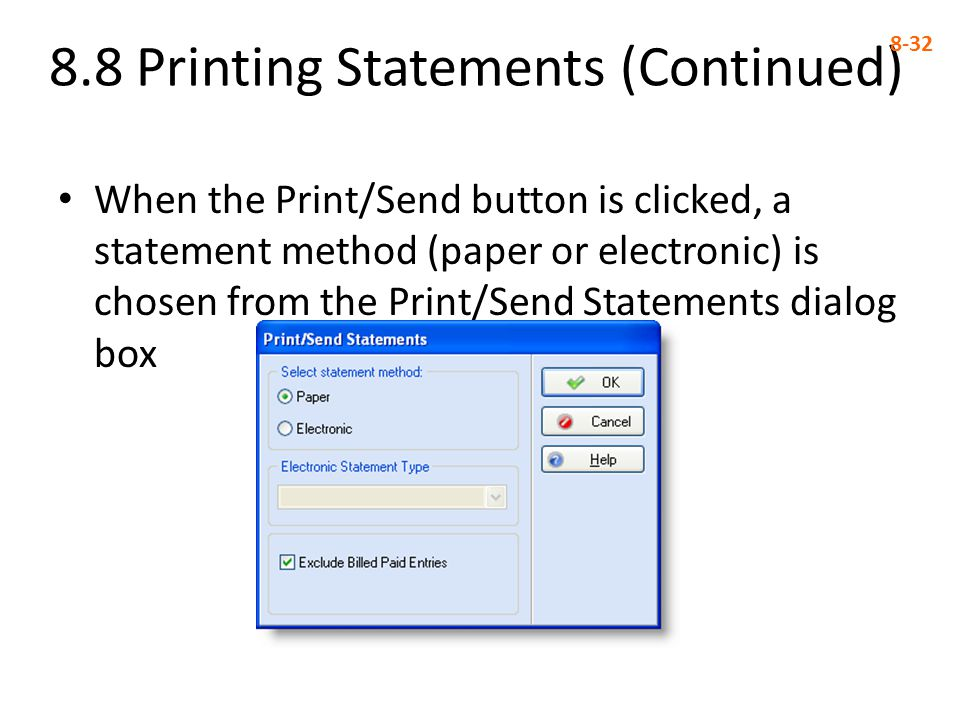 8.8 Printing Statements (Continued)