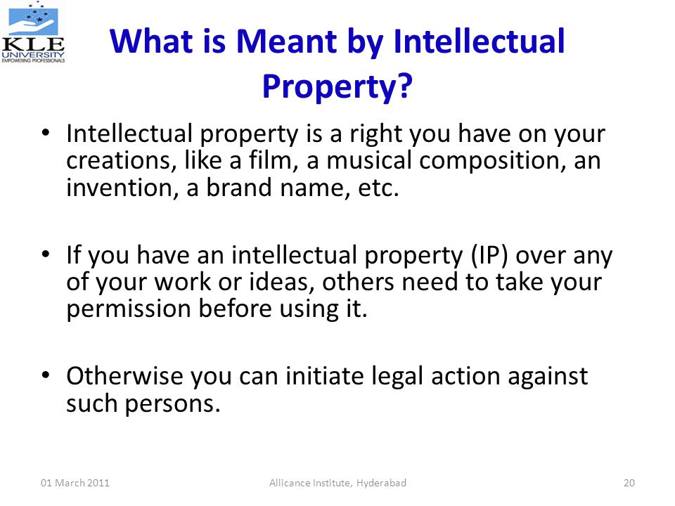 intellectual property right Integrating intellectual property rights and development policy i preface  we regard these sessions as important parts of our work in their own right.