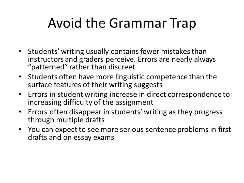 Competency traps essay