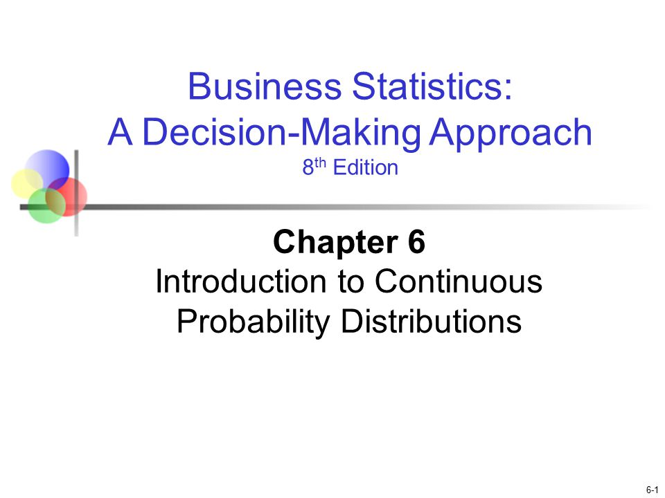 discrete and continuous probability distributions