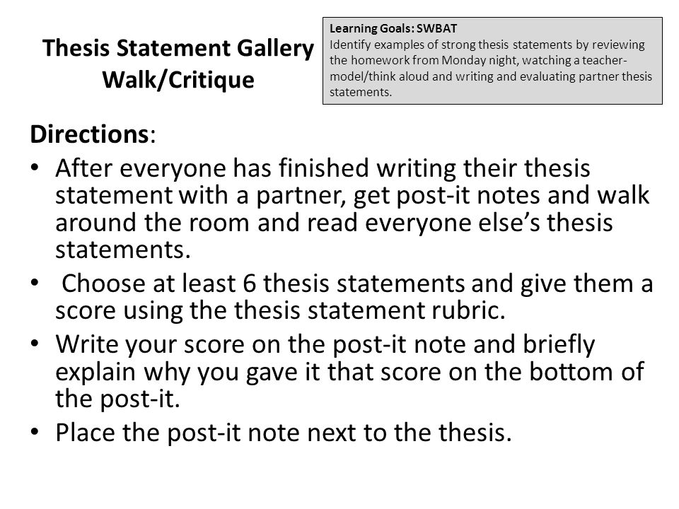 thesis statement of a critique Critique of a research article nursing essay - critique research articles mean   pay someone to write my thesis cheap thesis statement writing website.