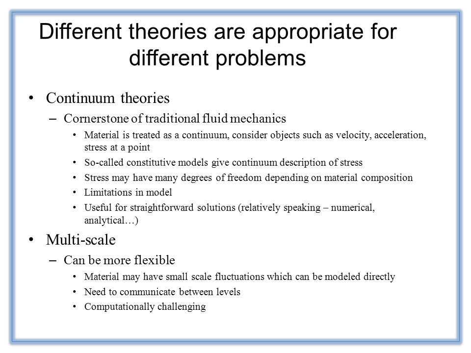 Social and Behavioral Theories
