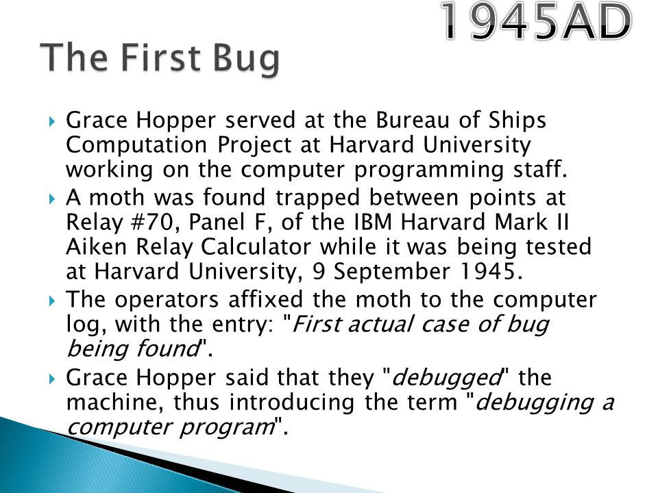 an introduction to the life of dr grace murray hopper For the rest of your life, every time you say, we've always done it that way, my ghost will appear and haunt you for twenty-four hours  grace murray hopper.