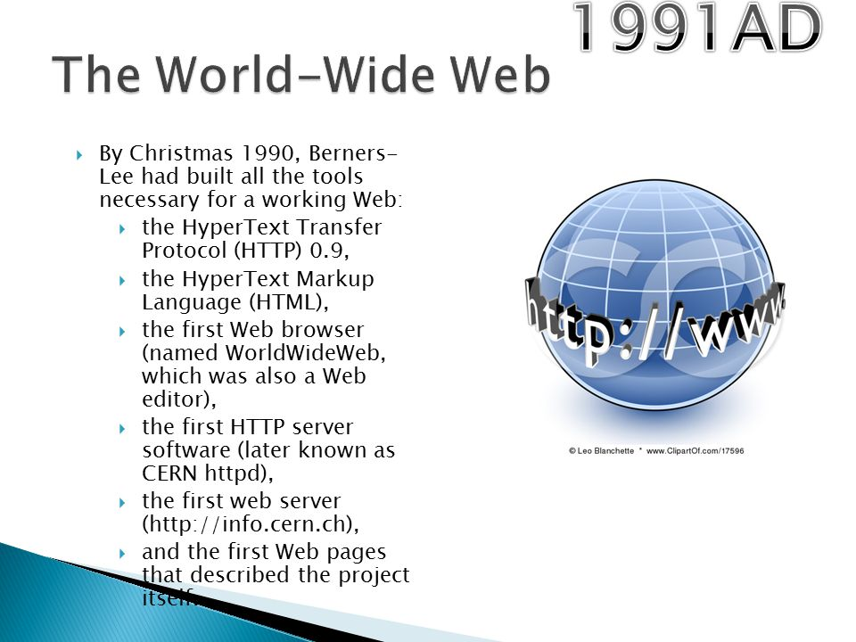 world wide web and web page
