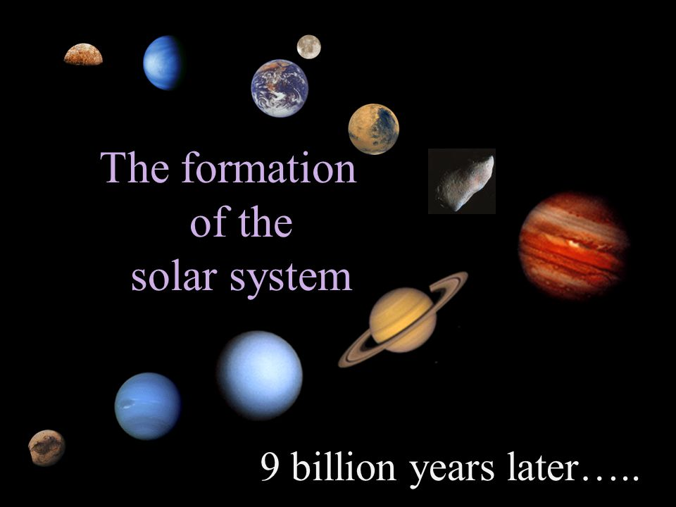 of our solar system formation theories - photo #45