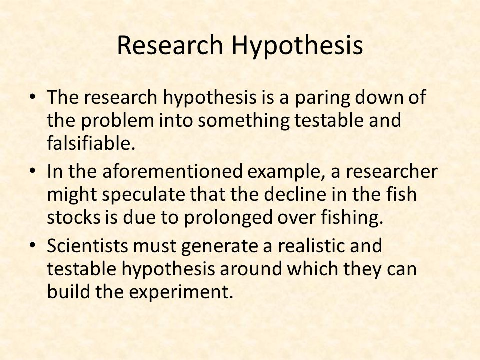 What are the Qualities of a Good Hypothesis?