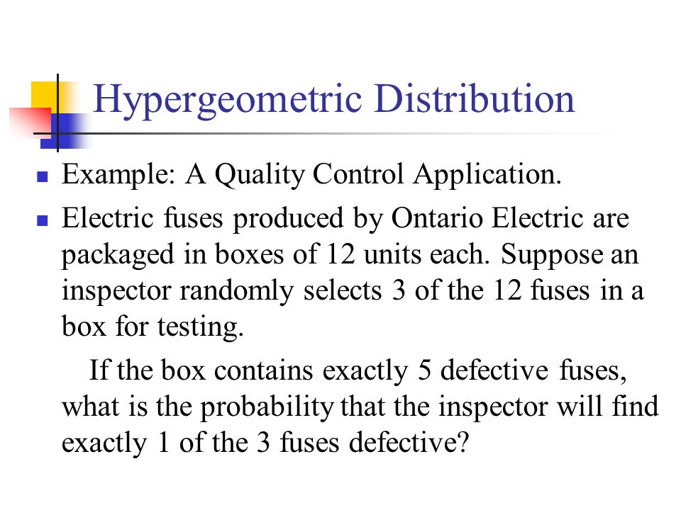 Hypergeometric+Distribution discrete probability distributions ppt download  at gsmx.co