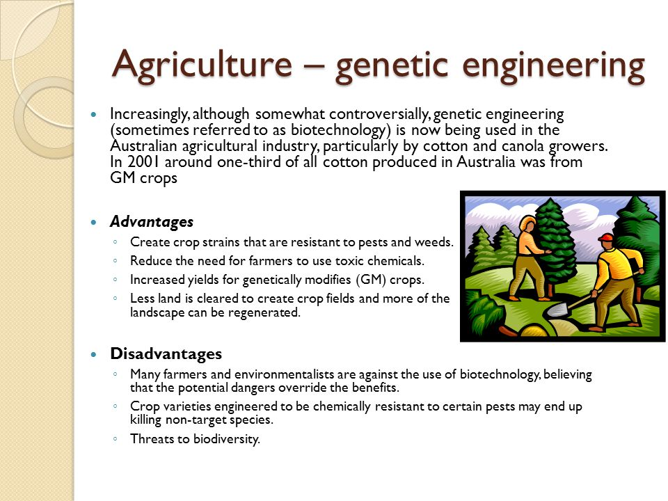 Benefits of Genetic Engineering