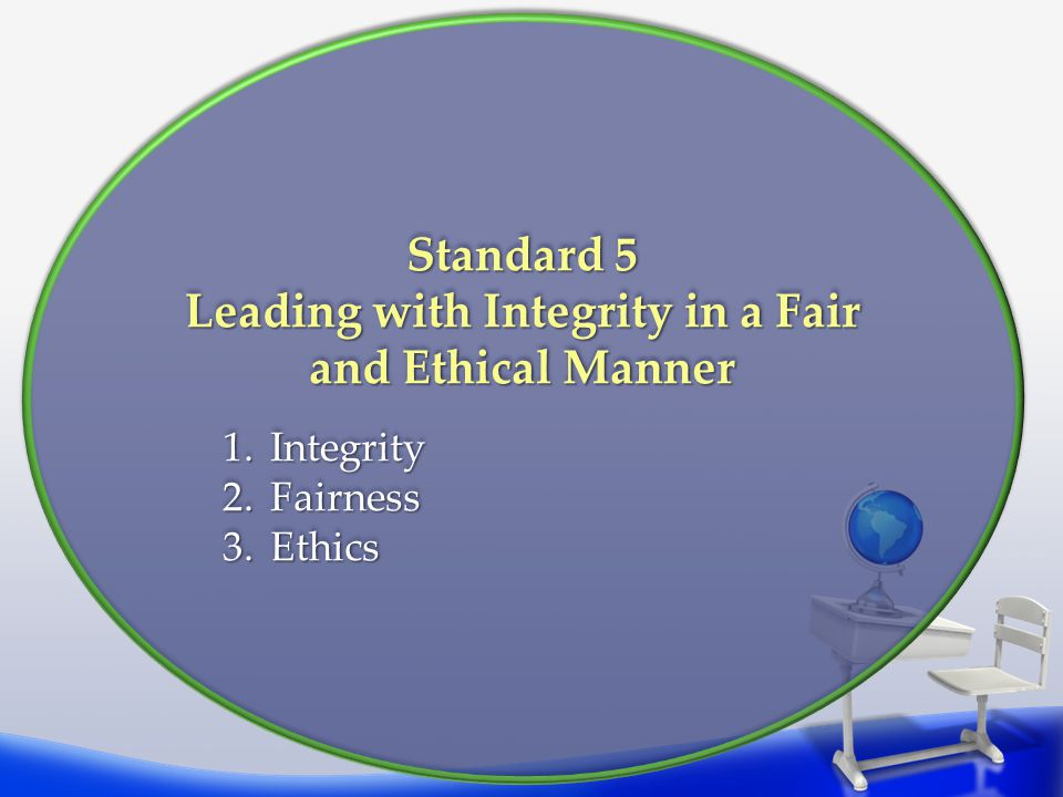Leading with Integrity in a Fair and Ethical Manner