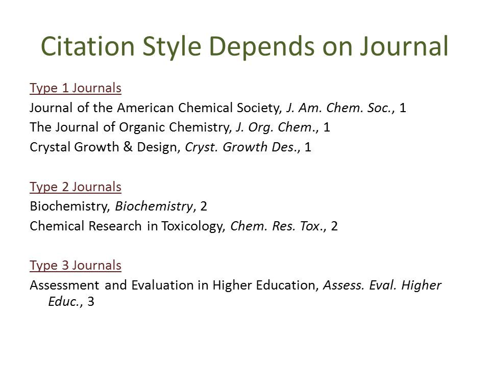 3 citation styles