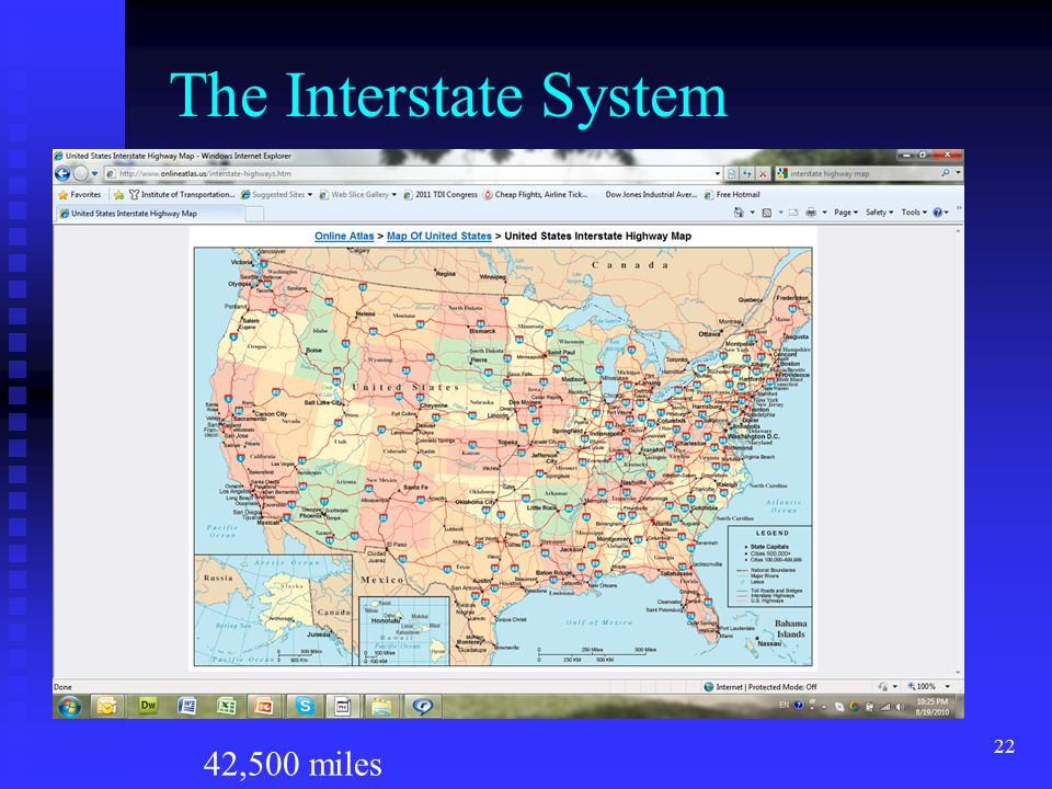 Us Map With Interstate System Globalinterco - Simplified us interstate map