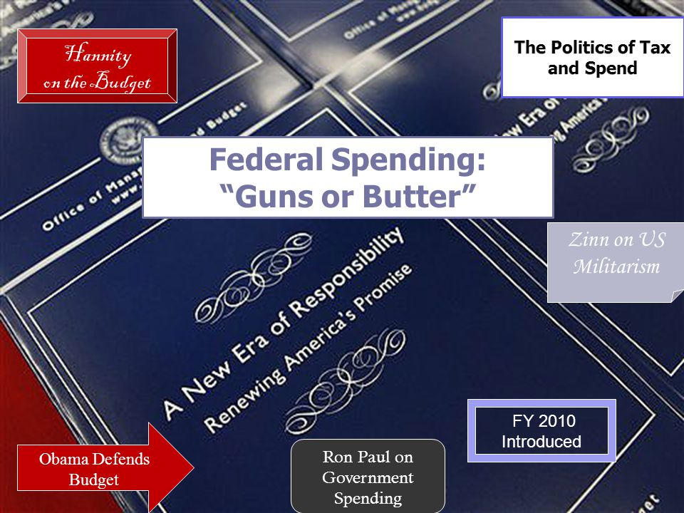 The Politics of Tax and Spend
