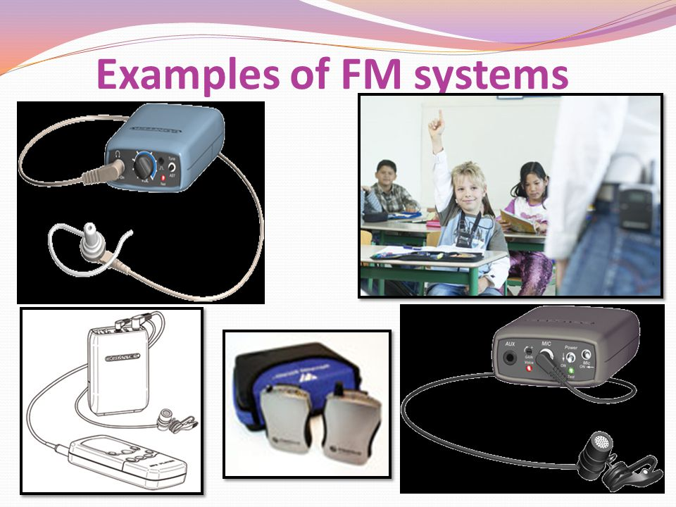 Examples of FM systems